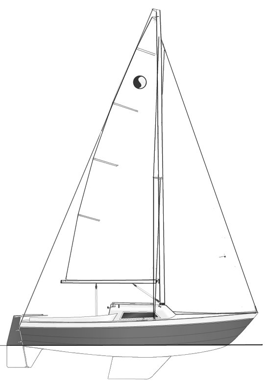 Svenborg Senior drawing on sailboatdata.com