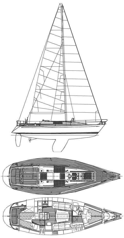 SWAN 36-2 drawing