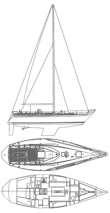 SWAN 391 drawing