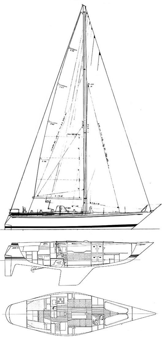 SWAN 411 drawing