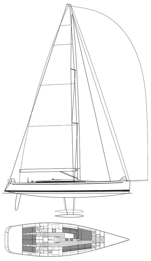 SWAN 60 FD drawing