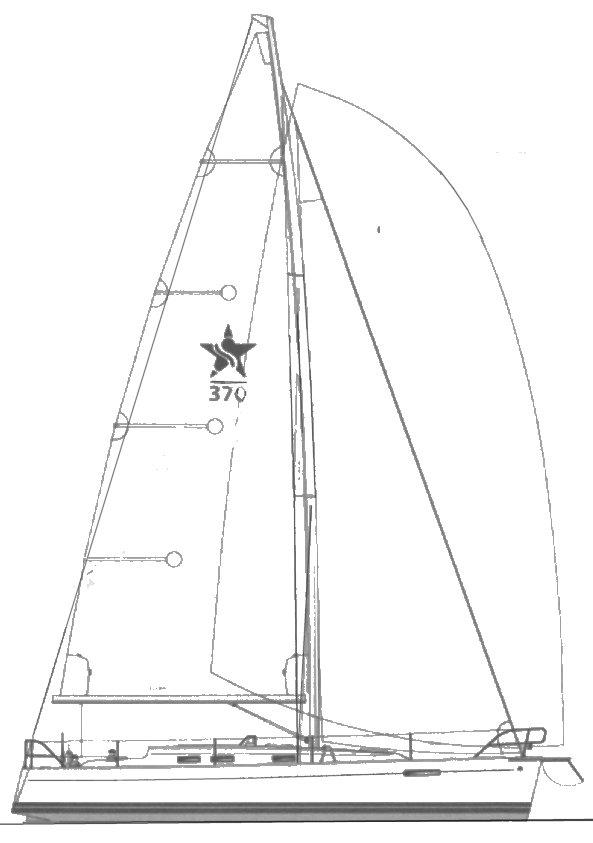 SWEDESTAR 370 drawing