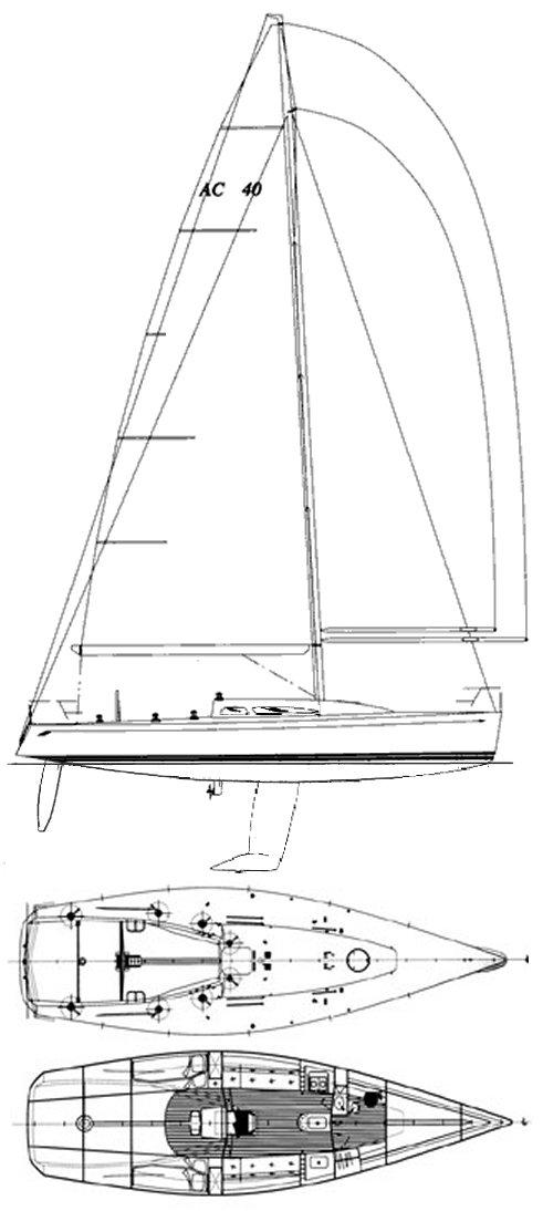 SYDNEY 40 AC drawing