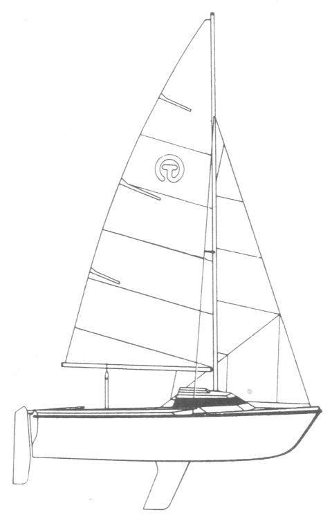 Tabasco 17 drawing on sailboatdata.com