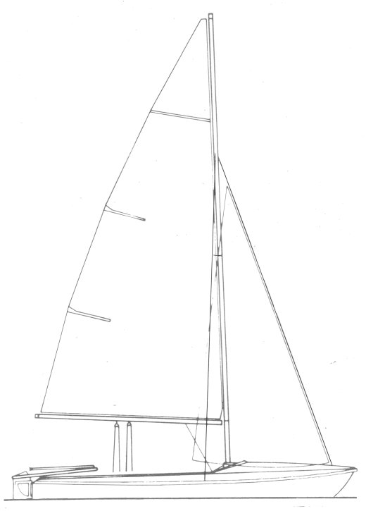 Tango (Milne) drawing on sailboatdata.com