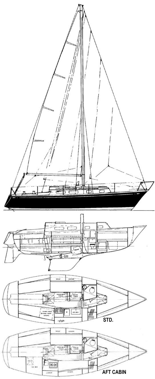TARTAN 30 drawing