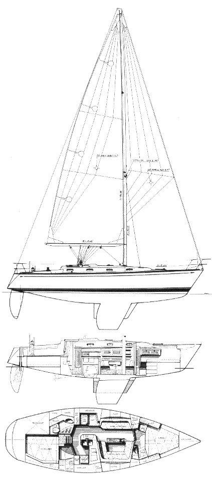 TARTAN 372 drawing