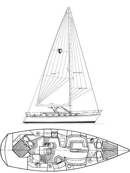 TARTAN 4100 drawing