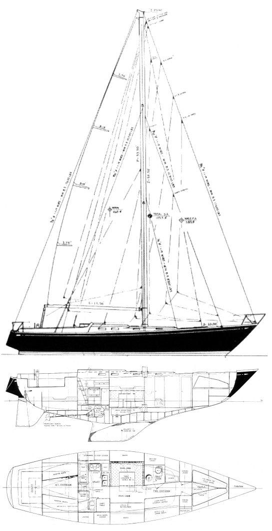 TARTAN 46 drawing
