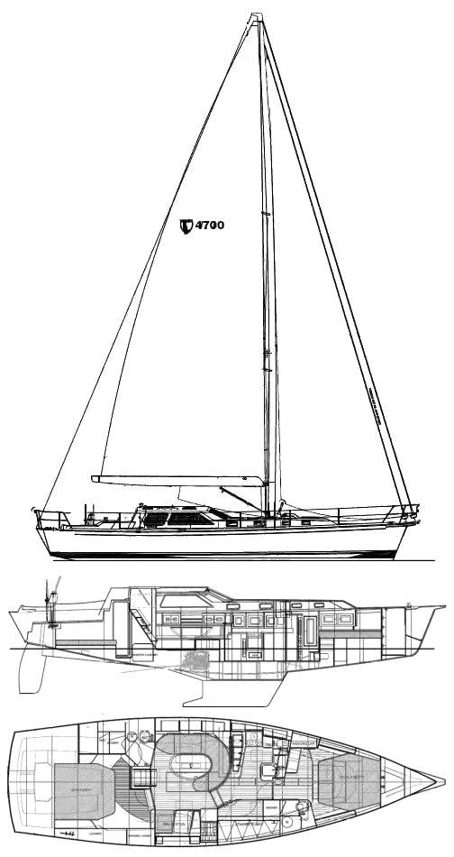 TARTAN 4700 drawing