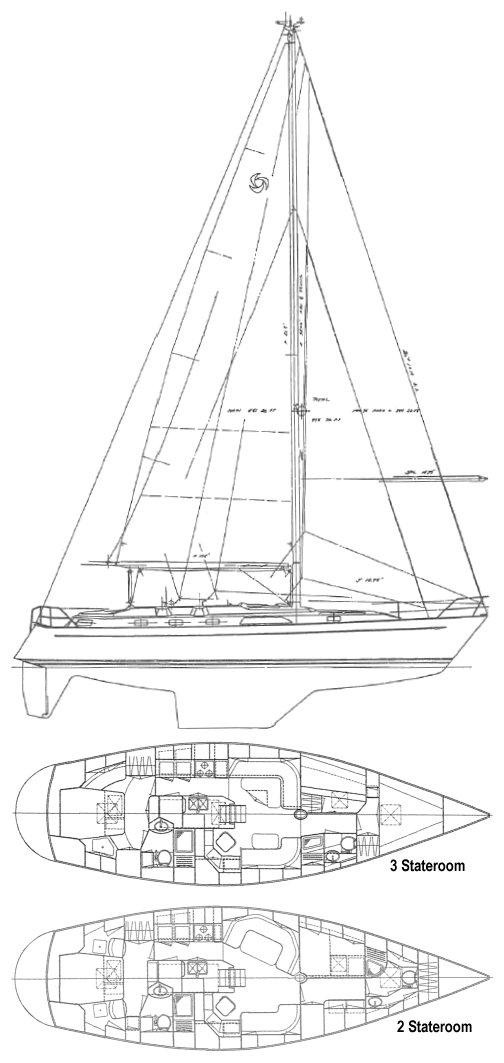 TAYANA 47 CC drawing