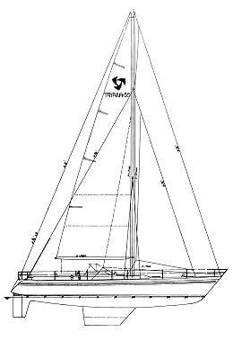 sailboatdata tayana 55 sailboat Sailing Scow Plans tayana 55
