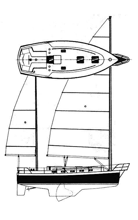 TICON 34 drawing