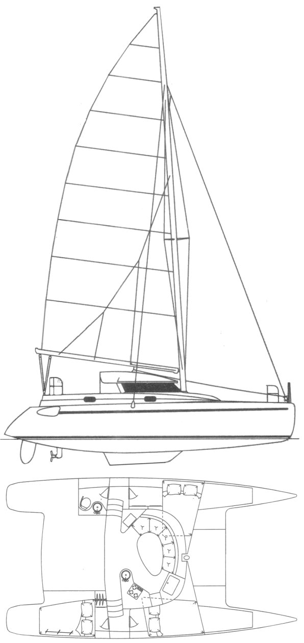 TOBAGO 35 drawing