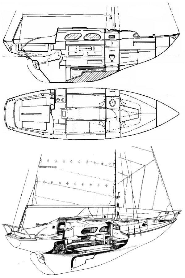 TRITON (JOUËT) drawing