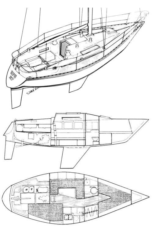 UFO 27 drawing