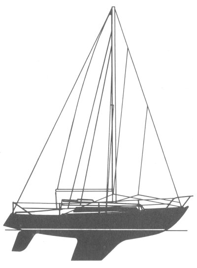 Verl 27 drawing on sailboatdata.com