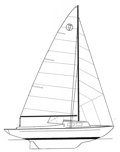 VICTORIA 18 drawing