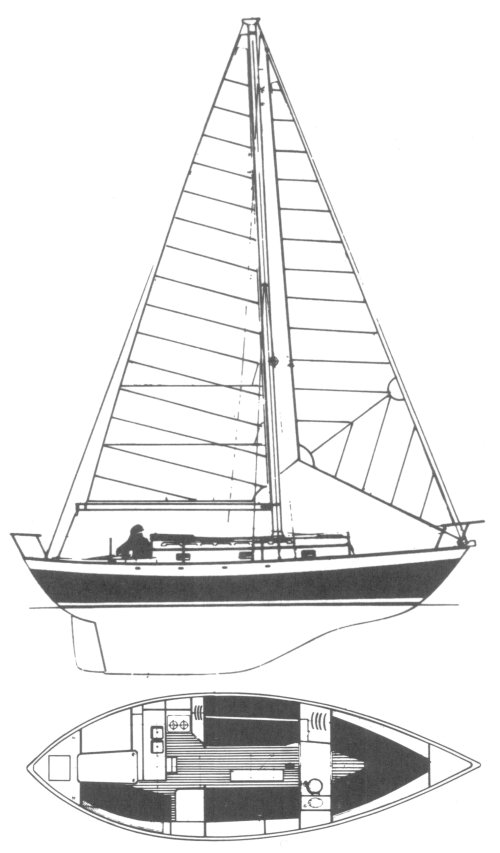 VICTORIA 30 (PAINE) drawing