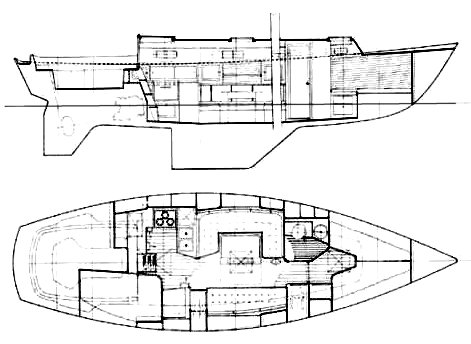 VICTORIA 34 drawing