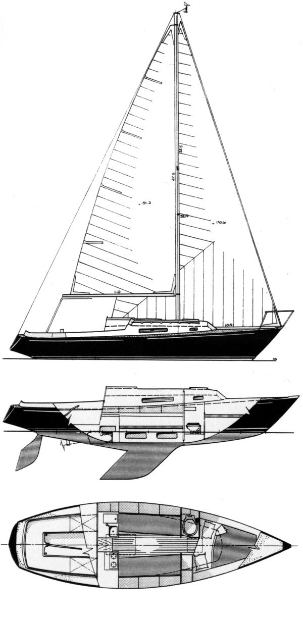 VIKING 28  drawing