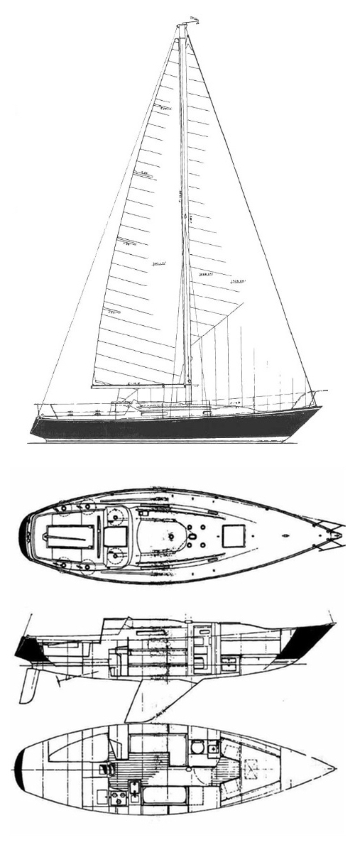 viking_34_drawing on sailboatdata.com