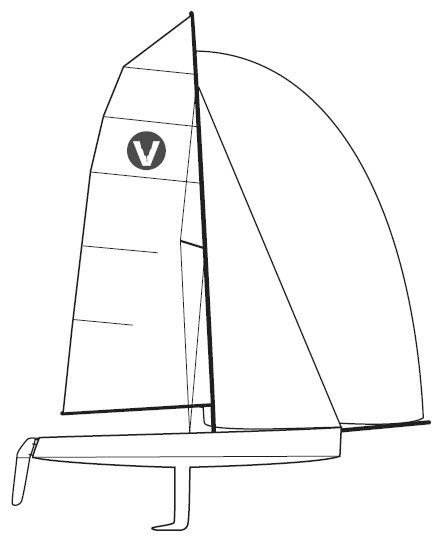 Viper 640 drawing on sailboatdata.com