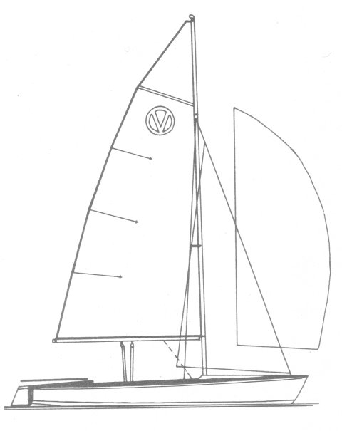 Vulcan 17 (Milne) drawing on sailboatdata.com