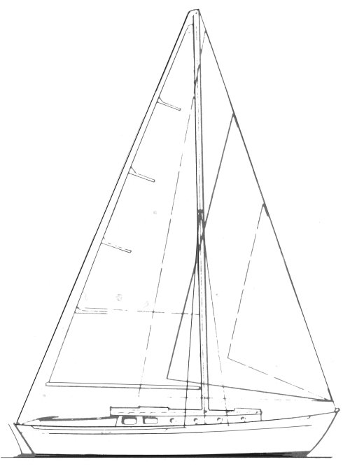 WANDERER 30 (LAURENT GILES) drawing
