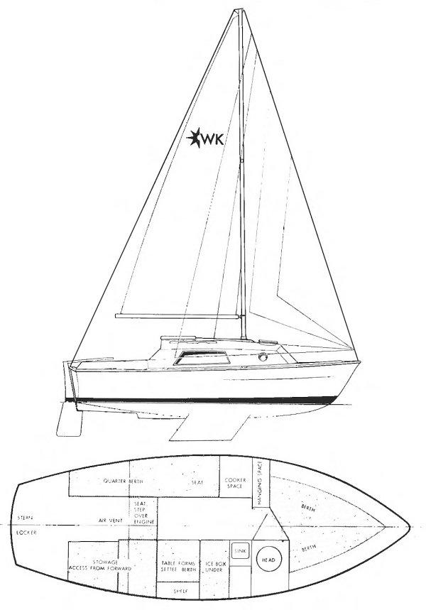 WARWICK 21 (WESTERLY) drawing