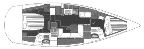 WAUQUIEZ PILOT SALOON 41 drawing