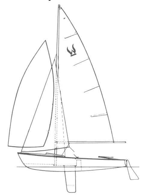 Wildfire drawing on sailboatdata.com