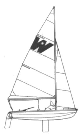 Wildflower drawing on sailboatdata.com