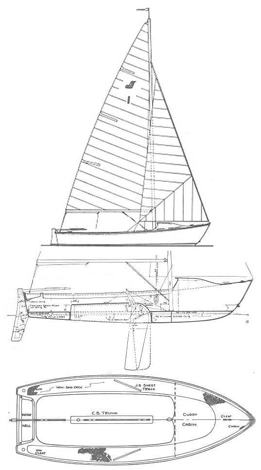 WINDJAMMER 17 drawing