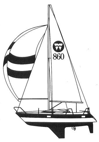 WINGA 860 drawing