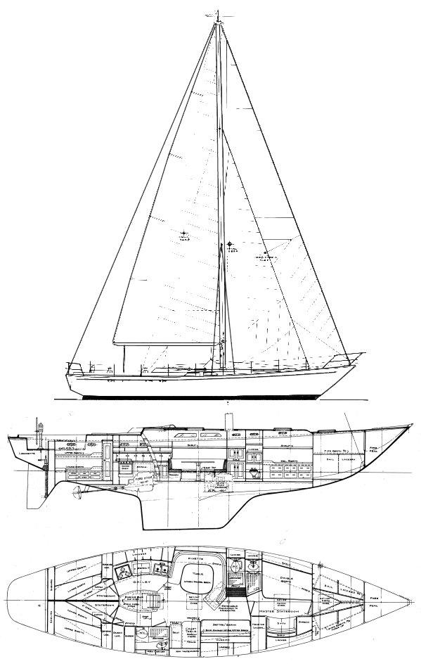 SailboatData  WITTHOLZ 53  CHEOY LEE     Sailboat