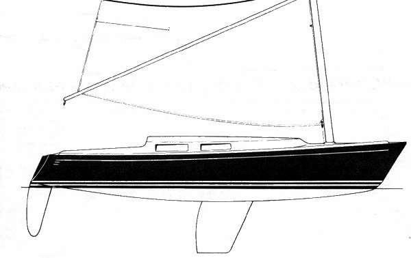 Wyliecat 30 drawing on sailboatdata.com