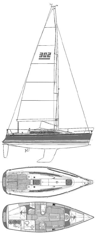 X-302 drawing