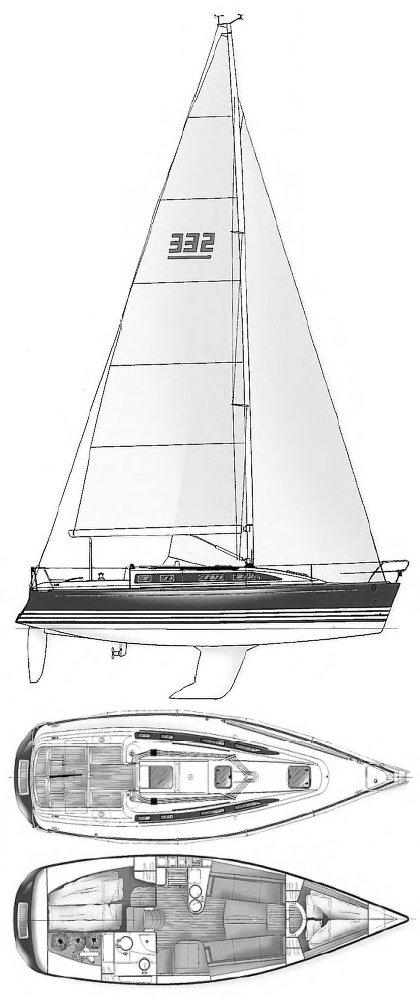 X-332 drawing