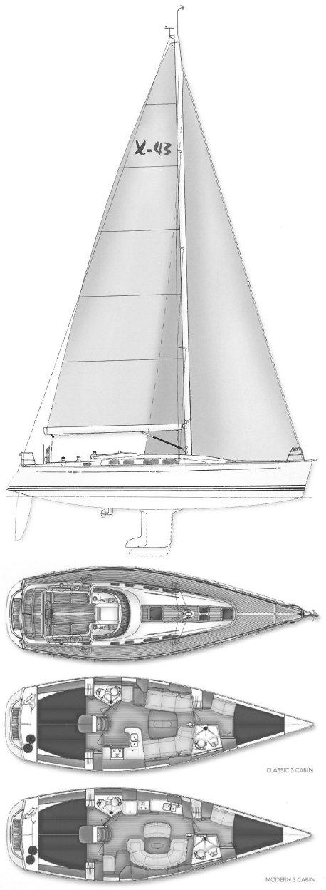 X-43 drawing