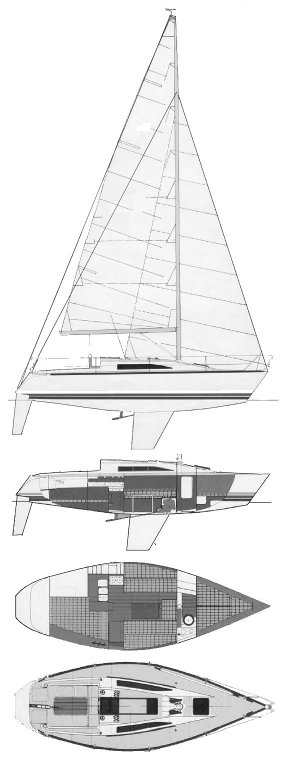 X-95 drawing