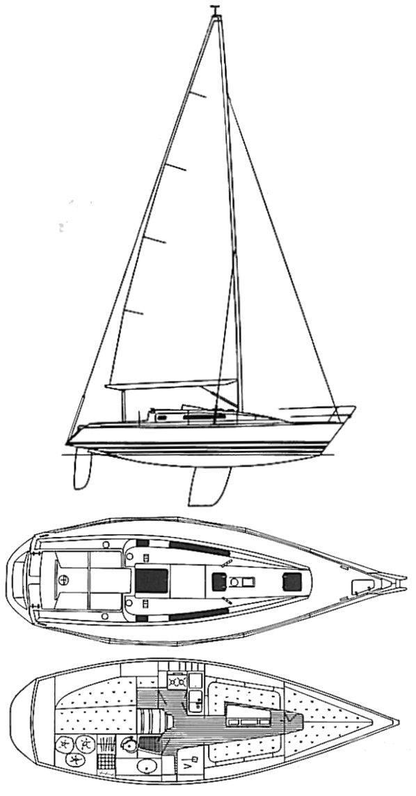 X-342 drawing