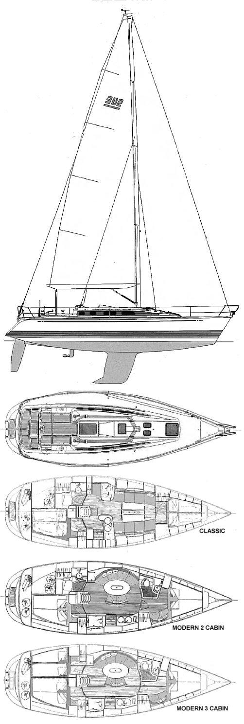X-382 drawing