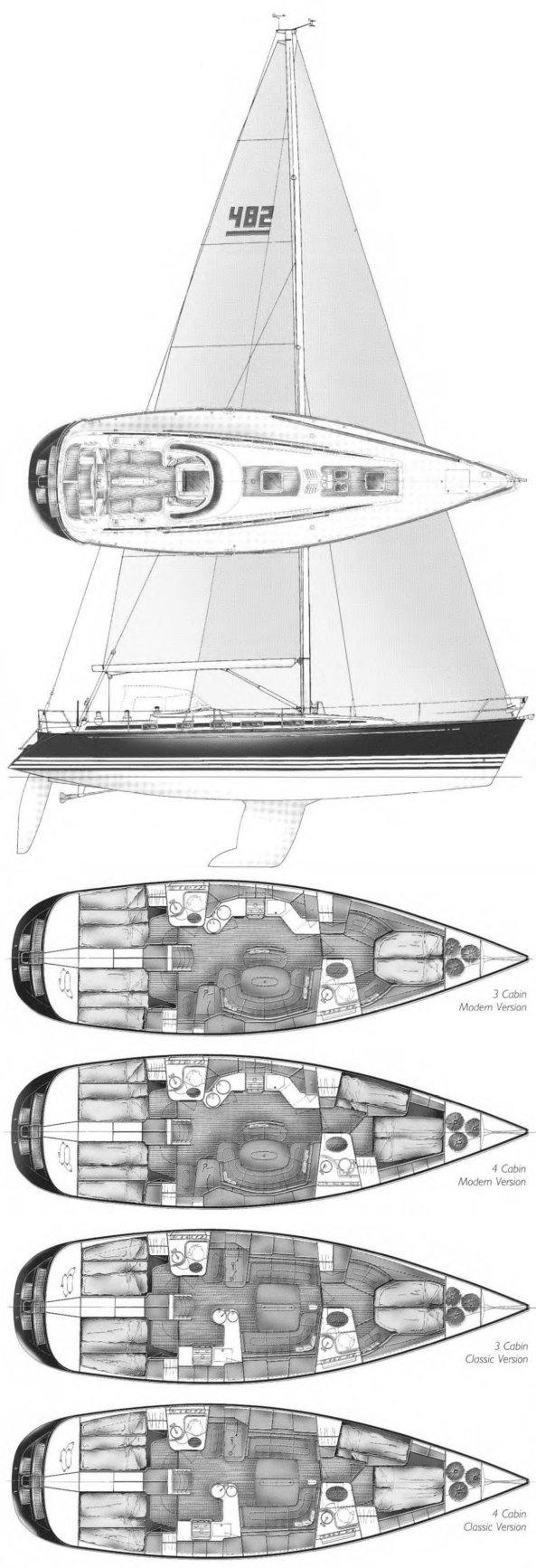 X-482  drawing