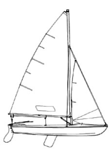 X Boat (USA) drawing on sailboatdata.com