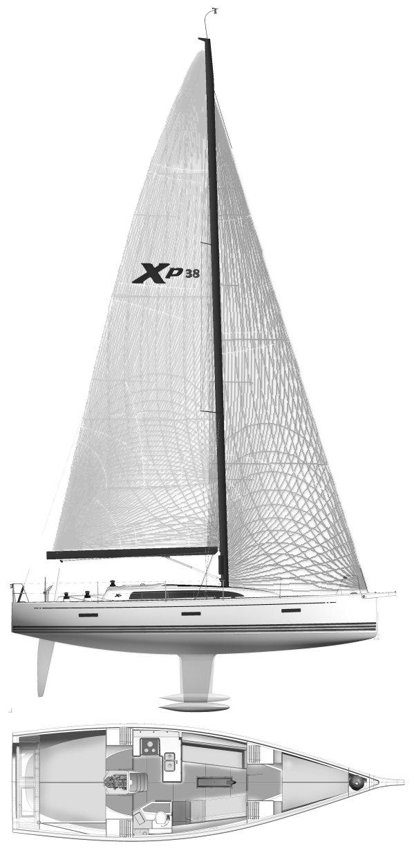 XP 38 drawing