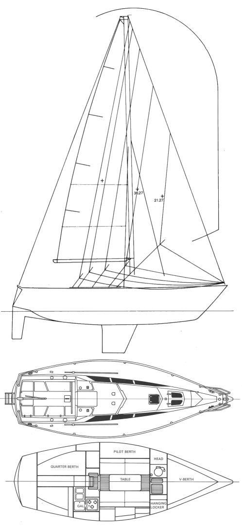 YAMAHA 30-1 drawing