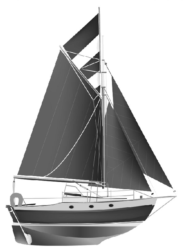 YARMOUTH 23 drawing