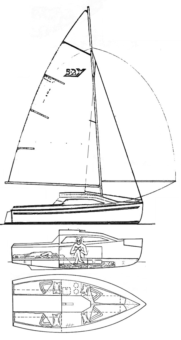 Young 5.2 drawing on sailboatdata.com