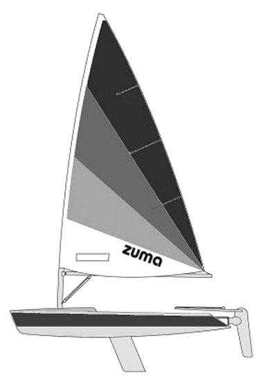 Zuma drawing on sailboatdata.com